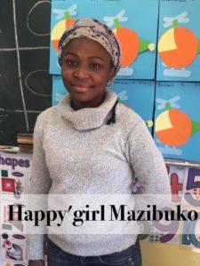Happy'girl Mazibuko