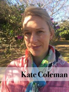 Kate Coleman